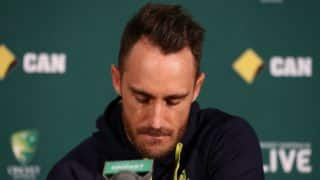 Faf du Plessis' appeal against his ball-tempering verdict to be held on December 19
