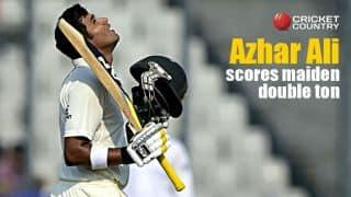 Azhar Ali scores maiden double hundred in Tests