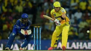Chennai Super Kings vs Rajasthan Royals, IPL 2015 Match 47 at Chennai