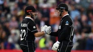 Match highlights New Zealand vs South Africa, Match 25: Kane Williamson's unbeaten century, Colin de Grandhomme power New Zealand to thrilling four-wicket victory