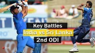 India vs Sri Lanka, 2nd ODI: MS Dhoni vs Thisara Perera and other key battles