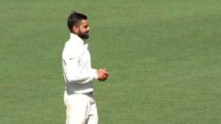 VIDEO: Virat Kohli bowls during India's tour game at the SCG