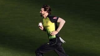 Kane Richardson out of India tour, Australia call on Andrew Tye