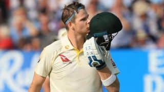 the ashes 2019: Steven smith, Matthew wade century help set target of 398 runs against England