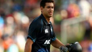 India vs New Zealand 2014, 1st ODI at Napier: New Zealand 90/2 in 20 overs