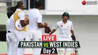 Live Cricket Score, PAK vs WI, 3rd Test, Day 2: WI trail by 362 runs at stumps