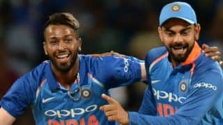 Kohli reckons Pandya as biggest positive of series