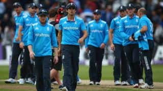 Alastair Cook calls for improved batting display by England after going 0-2 down to India in ODI series