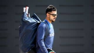 Kohli and Co. begin training for 2nd Test at Jamaica