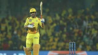 Vintage MS Dhoni on show as Chennai post 175/5 vs Rajasthan