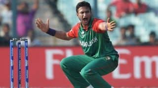 Shakib al hasan says Mustafizur Rahman's absence a chance for someone else to shine