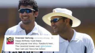 ROFL: Virender Sehwag calls Zaheer Khan 'Gyaan Baba' on his birthday