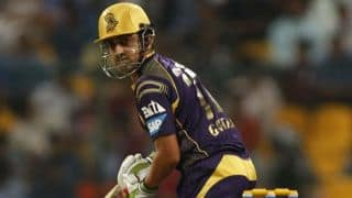 Kolkata Knight Riders on course to victory against Kings XI Punjab in IPL 2014