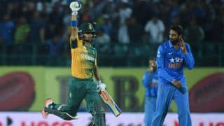 India vs South Africa 2015, 1st T20I at Dharamsala