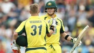 David Warner up for T20I captaincy if Steven Smith makes way
