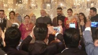 PM Narendra Modi attends Virat Kohli, Anushka Sharma's reception in Delhi