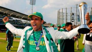 Fakhar Zaman was once banned from playing cricket in his village