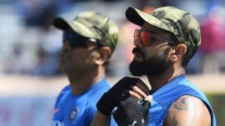 Cricket World Cup 2019: MS Dhoni gives me the freedom to do my thing – Virat Kohli