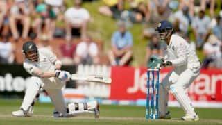 India vs New Zealand, 2nd Test, Day 4: Brendon McCullum crosses 150-run mark; score 321/5