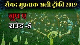 Syed Mushtaq Ali Trophy 2019, Group E, Round 5: Kerala beats Jammu and Kashmir by 94 runs