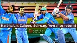 Harbhajan Singh, Yuvraj Singh, Virender Sehwag, Zaheer Khan on selector's radar for India tour of Bangladesh 2015