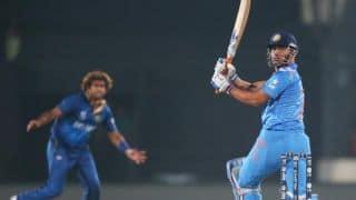 MS Dhoni praises Lasith Malinga's death bowling on Sri Lanka's ICC World T20 2014 win