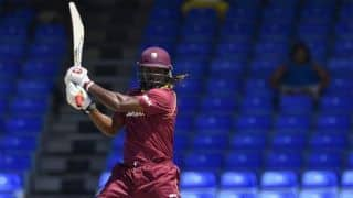 Gayle hopeful of one last hurrah in front of home crowd