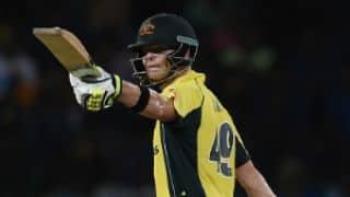 Match report: Steven Smith, James Faulkner guide Australia to 3-wicket win against Sri Lanka in 1st ODI