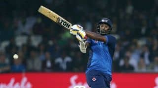 Thisara Perera became 4th cricketer to complete 1,000 runs & 50 wicket in T-20 Internationals