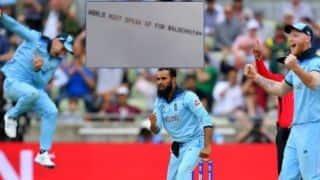 World Cup 2019, ENG vs AUS: 'World Must Speak Up for Balochistan', a banner flown over stadium during 2nd semi final