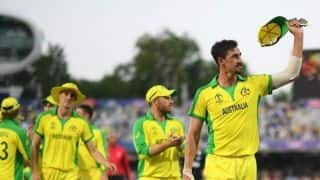 Mitchell Starc's five-wicket haul leads Australia to clinical 86-run victory