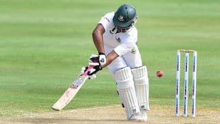 Bangladesh 316/4 at lunch on Day 2