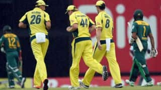 Australia vs South Africa: Match abandoned