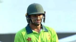 अपने पहले मैच में ऐसे आउट हुए पाकिस्तानी ओपनर, बन गया रिकॉर्ड