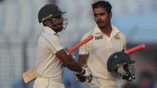 Imrul Kayes, Shamsur Rahman register record 2nd-wicket partnership for Bangladesh