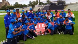 Edulji reveals BCCI to honour World Series-winning Indian physically disabled team