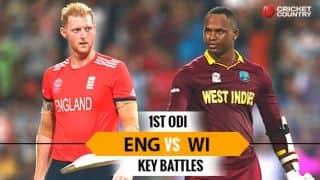 England vs West Indies, 1st ODI: Ben Stokes vs Marlon Samuels and other key battles