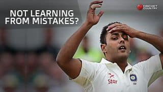 Stuart Binny has failed to learn from mistakes, opines Sunil Gavaskar following Day 1 of 1st Test against Sri Lanka