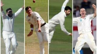 New Zealand Test squad: Four spinners - Ajaz Patel, Will Somerville, Mitchell Santner and Todd Astle - for Sri Lanka