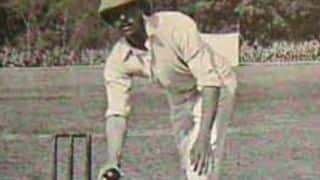 George Simpson-Hayward: The last great underarm bowler