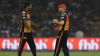 Mohali dew factor hampered Sunrisers, aided KXIP: Sandeep Sharma