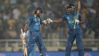 'Sri Lanka were determined to win for Sanga and Mahela'