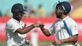 India vs England 1st Test, Day 3 Highlights: Cheteshwar Pujara, Murali Vijay's bromance, Puja Pabari's celebrations & visitors' struggles fold day