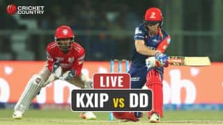 Live IPL 2017 Score, KXIP vs DD, Match 36: Billings departs for a duck