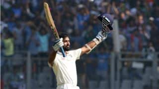 Murali Vijat claims playing with fractured wrist