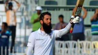 Day 1 report: Moeen Ali's stout ton puts visitors in control at stumps