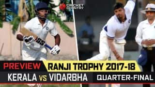 Ranji Trophy 2017-18, 3rd quarter-final preview: Test of nerves for Kerala in maiden knockout