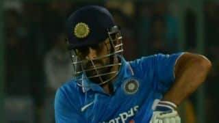 Dhoni: Wanted to bat up and play a few more strokes
