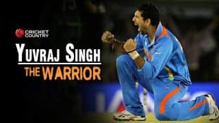 Yuvraj Singh – The fighting warrior