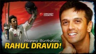 Happy Birthday, Rahul Dravid: The Wall turns 45